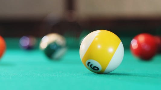 Thumbnail for Playing American Billiards