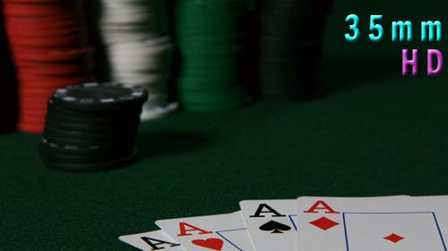 Poker Aces Four Of A Kind 14
