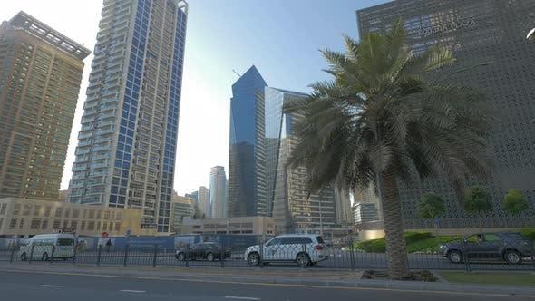 Thumbnail for Cars driving on Al Marsa street