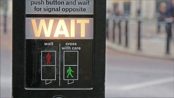 Thumbnail for Pedestrian signage at the Sidewalk