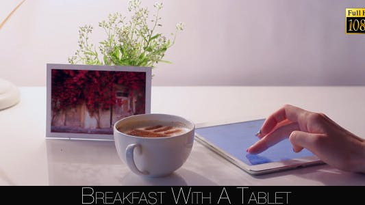 Thumbnail for Breakfast With A Tablet 3