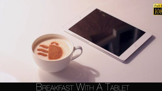 Cover Image for Breakfast With A Tablet 4