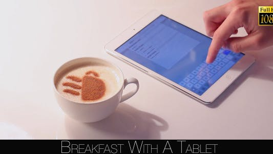 Cover Image for Breakfast With A Tablet 6