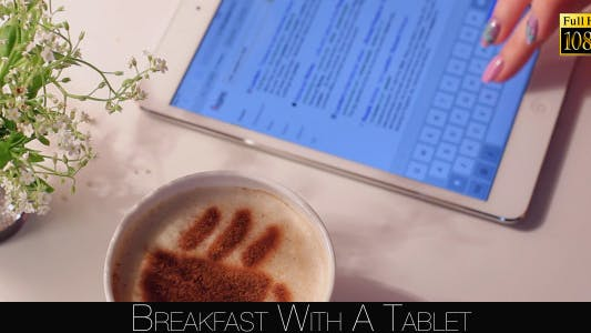 Thumbnail for Breakfast With A Tablet 7