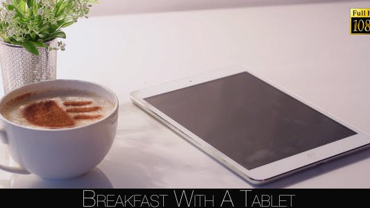 Cover Image for Breakfast With A Tablet 9