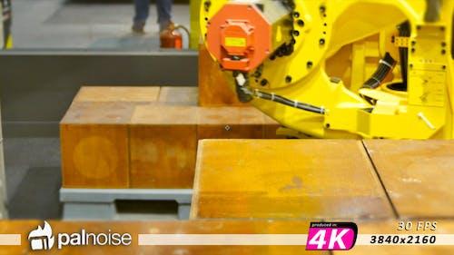 Crane Mechanical Arm, Logistic Industry