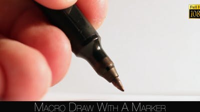 Draw With A Marker