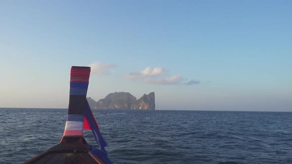 Thumbnail for View on Phi Phi Leh Island From the Floating Boat