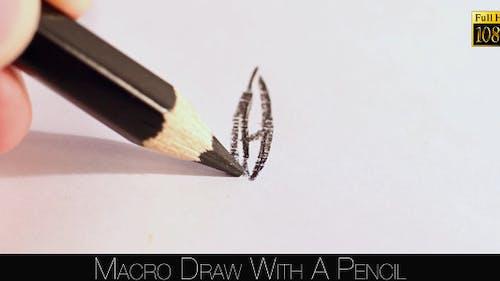 Zeichnen mit einem Bleistift
