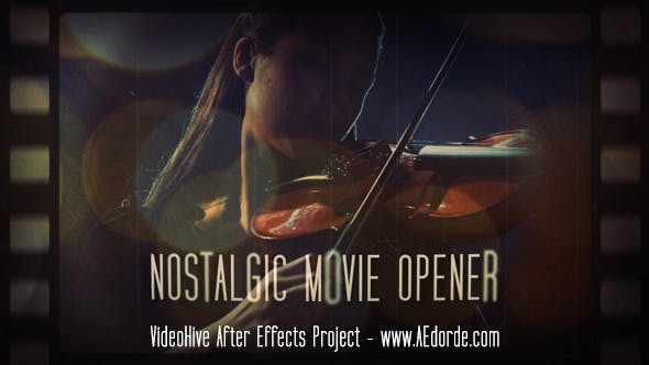 Thumbnail for Nostalgic Movie Opener