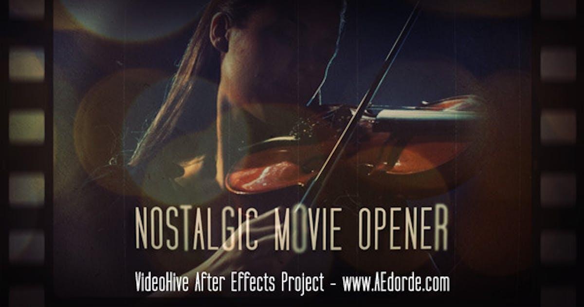 Download Nostalgic Movie Opener by dorde