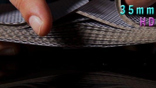 Thumbnail for Shuffling Poker Cards 21