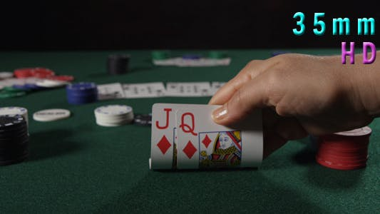 Thumbnail for Poker Player Checking Cards 24