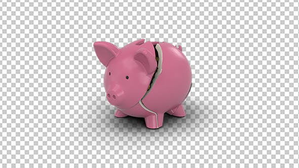 Thumbnail for Piggy Bank Breaking