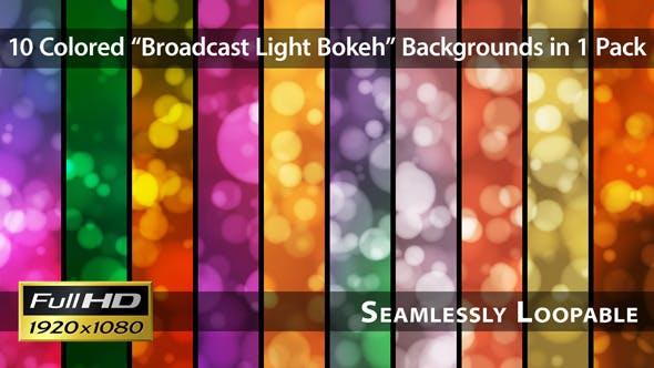 Thumbnail for Broadcast Light Bokeh - Pack 09