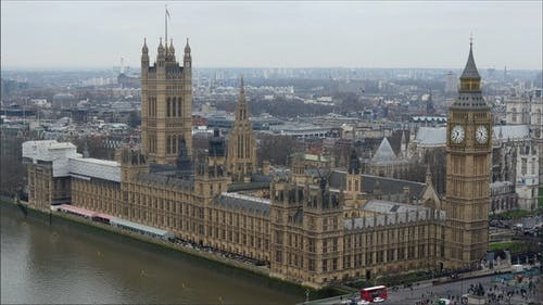 The Back View of the Palace of Westminster