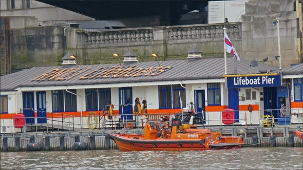 Thumbnail for The Lifeboat Pier in Thames River