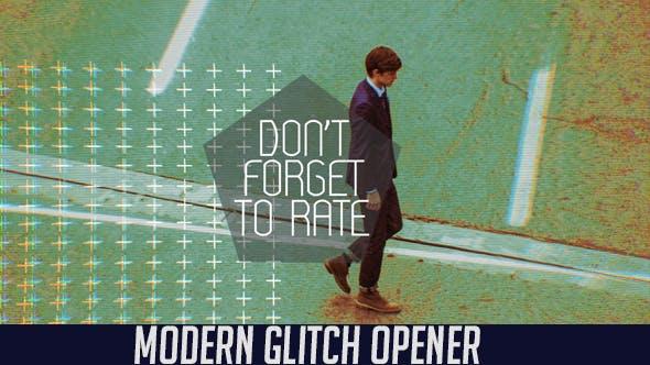 Thumbnail for Modern Glitch Opener