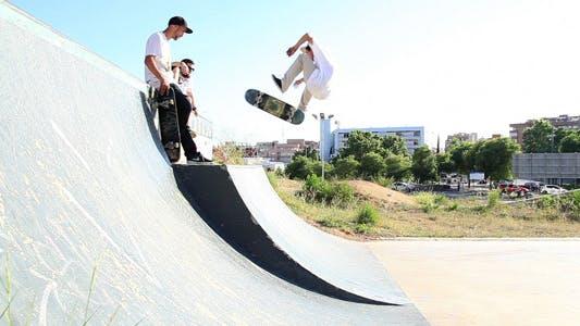 Thumbnail for Skateboarding At The Park