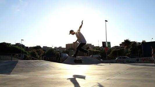 Thumbnail for Sunset At The Skatepark