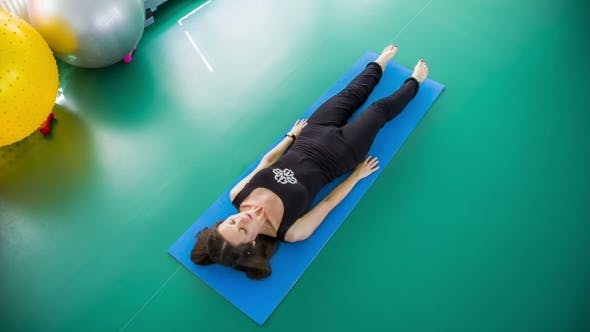 Thumbnail for Healthy Woman Practicing Yoga On a Mat