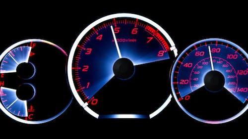 Car Acceleration. Dashboard