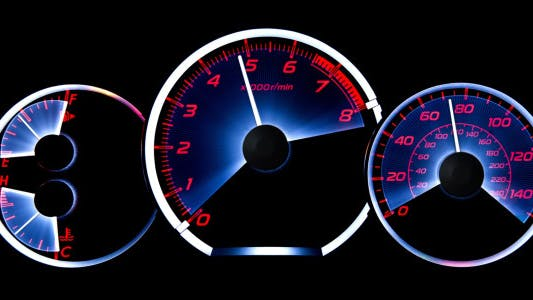 Cover Image for Car Acceleration. Dashboard