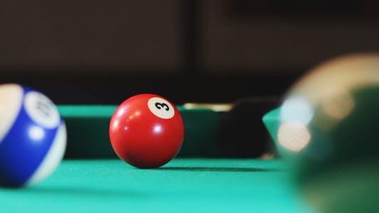Thumbnail for Blow on a Billiard Ball Closeup