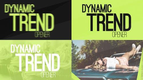 Abridor de tendencias dinámicas