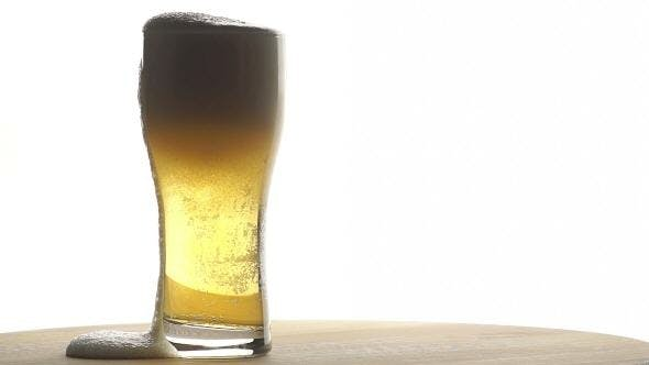 Thumbnail for Beer is Poured into a Tall Glass
