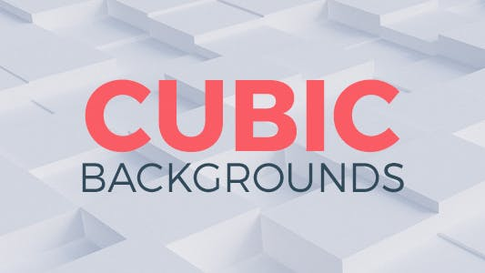 Thumbnail for Cubic Background Clips