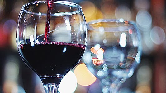 Thumbnail for Bartender Pours Red Wine