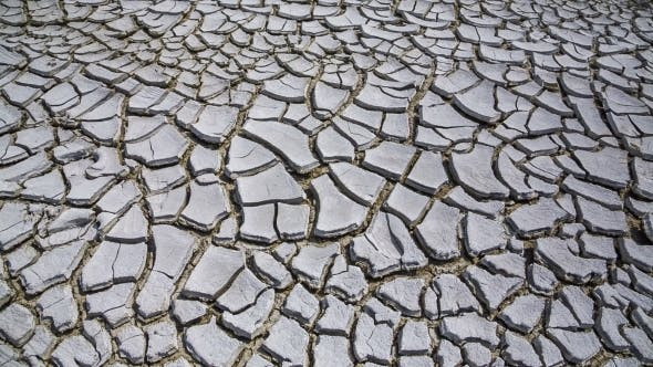 Thumbnail for Land Cracked From Drought.