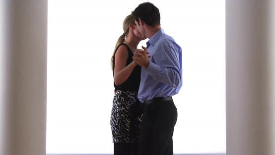 Thumbnail for Couple slow dancing