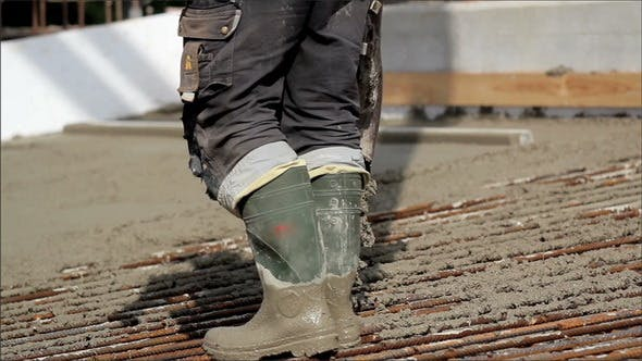 Thumbnail for Pouring Cement on the Ground