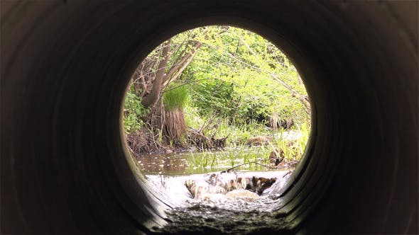 Thumbnail for Culvert- Water Pipes Under Road
