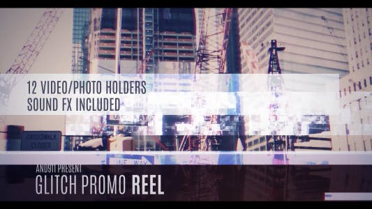 Thumbnail for Glitch Promo Reel