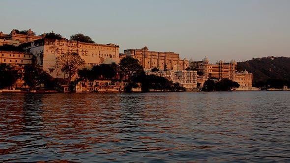 Thumbnail for Night Follows Day - Palace On Lake In Udaipur