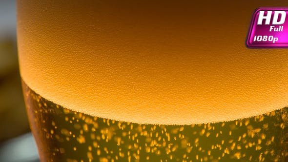 Thumbnail for In a Glass of Lager Beer Pouring