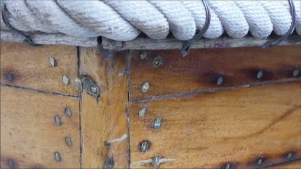 Thumbnail for An Old Fishermens Boat with Ropes