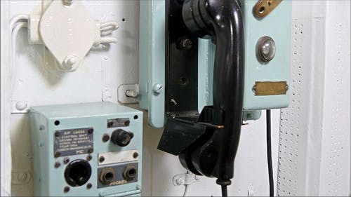The Black Telephone and the Mic in the Warship