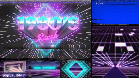 Thumbnail for 1980's Rush Template