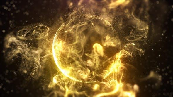 Thumbnail for Gold Energy Sphere
