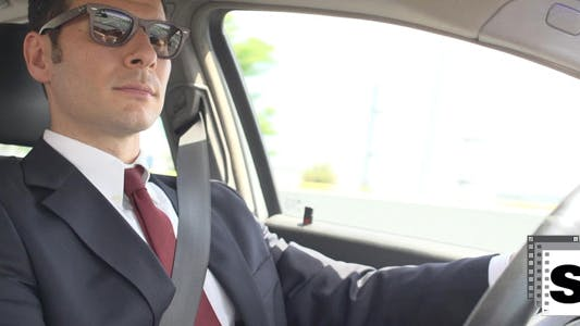Thumbnail for Businessman Driving 2