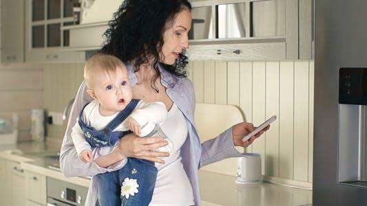 Nursing a Baby