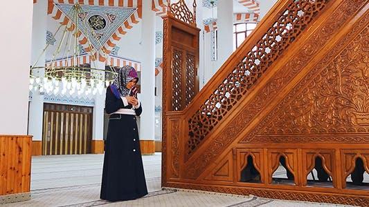 Thumbnail for Namaz - Salat and Dua - Muslim Woman In Mosque