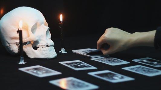 Thumbnail for Black Tarot Cards