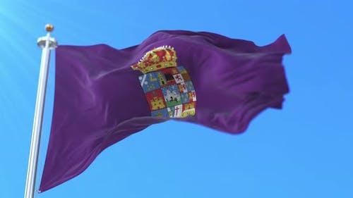 Guadalajara Flag, Spain