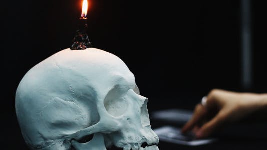 Thumbnail for Black Ritual Tarot Cards