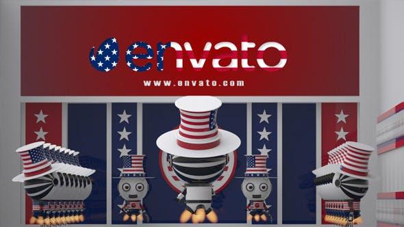 Robot SS2 - USA Patriot Opener